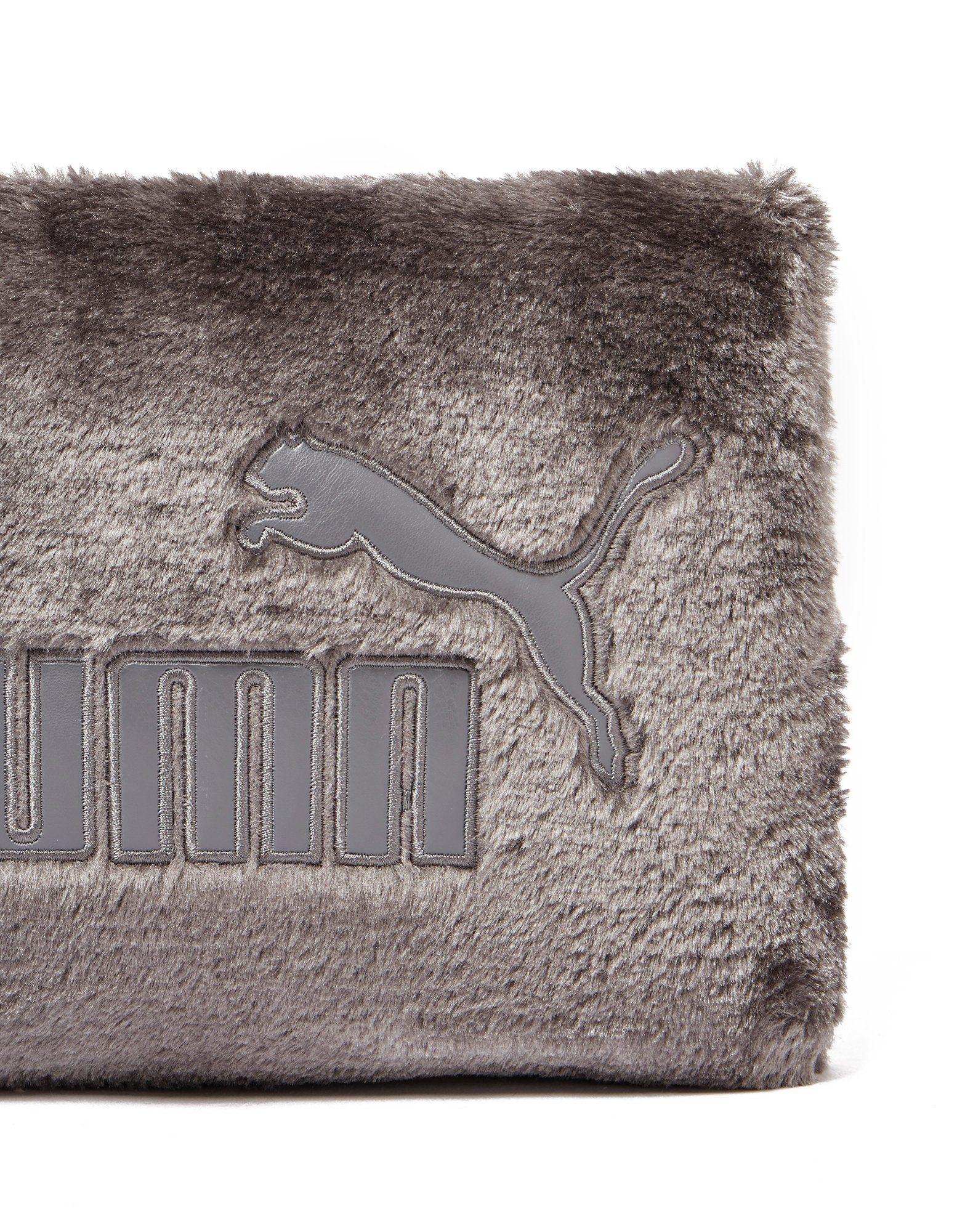 PUMA Fur Clutch Bag