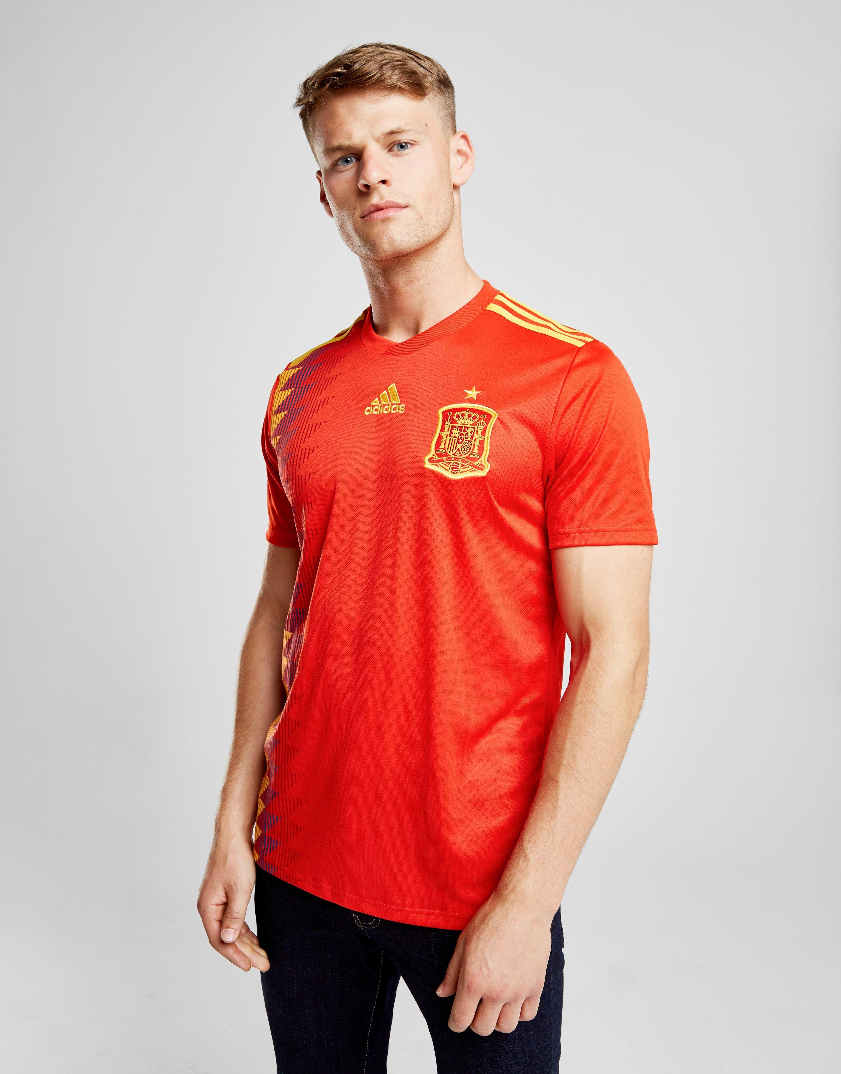 adidas Spain 2018 Home Shirt