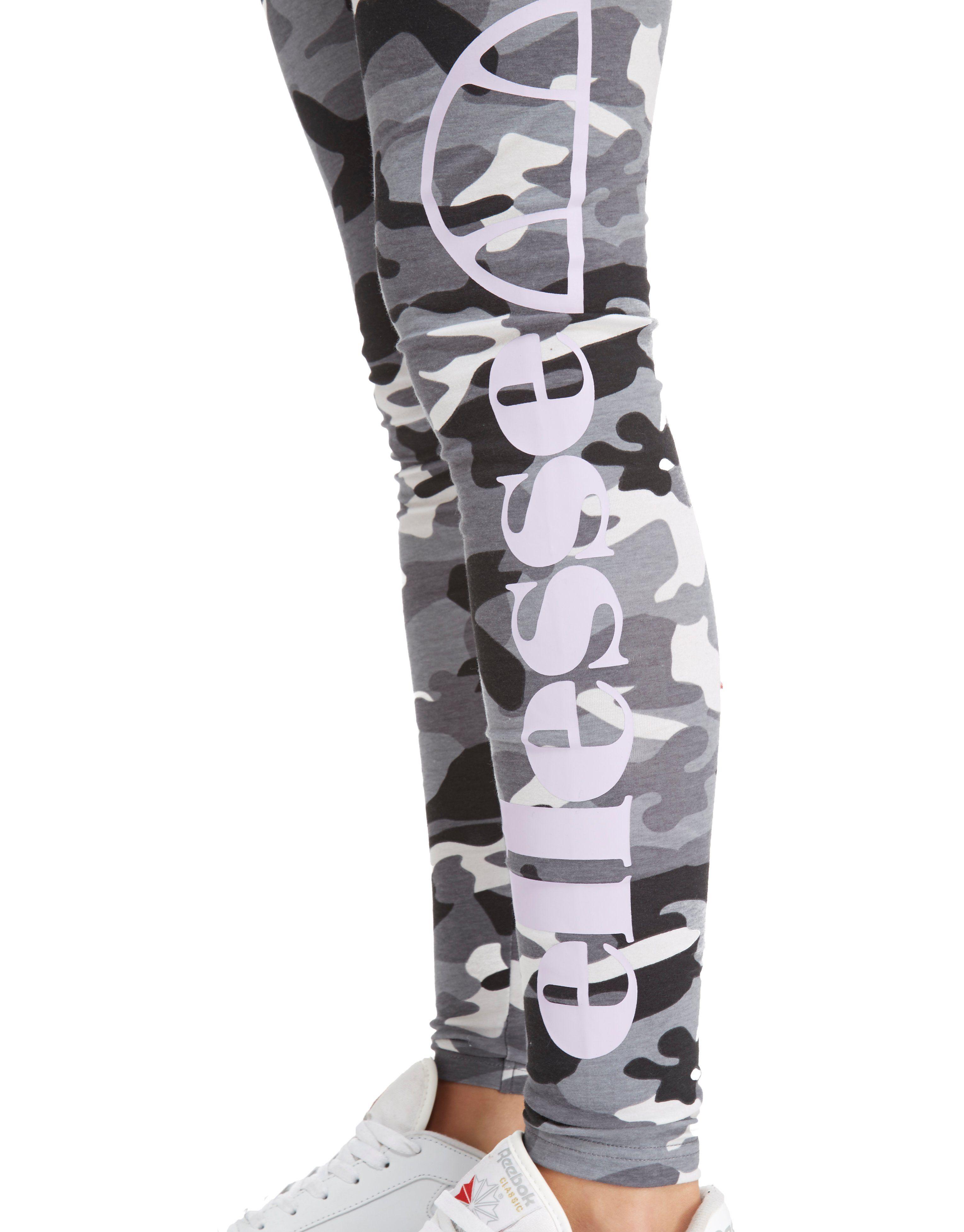 Ellesse All Over Print Camo Legging