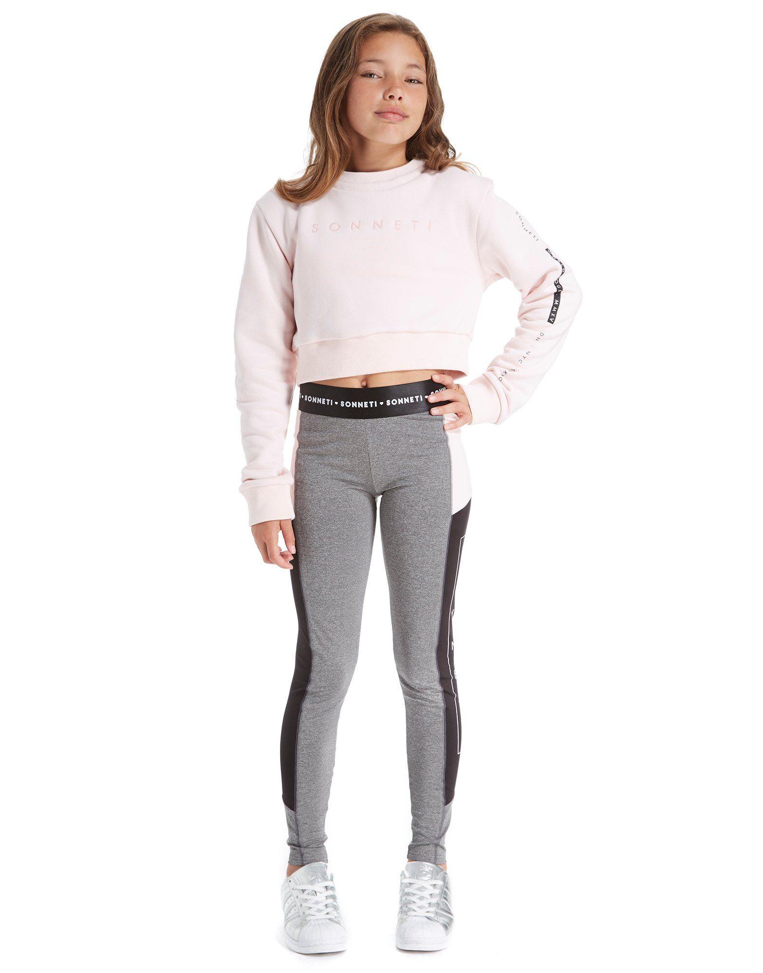 Sonneti Girls' Link Crew Sweatshirt Junior