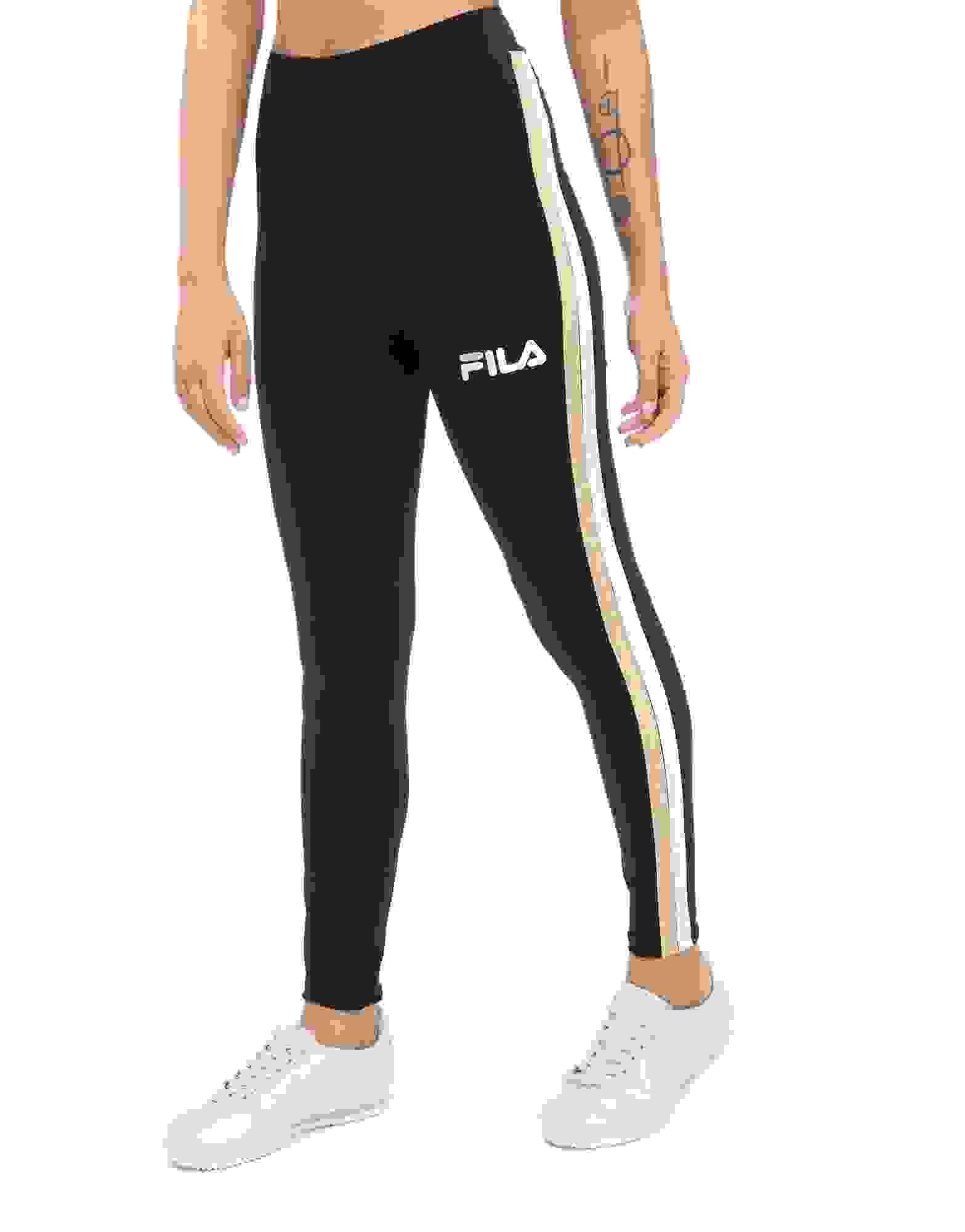 fila leggings. fila stripe leggings g