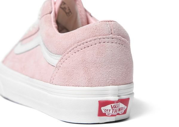 vans old skool suede pink