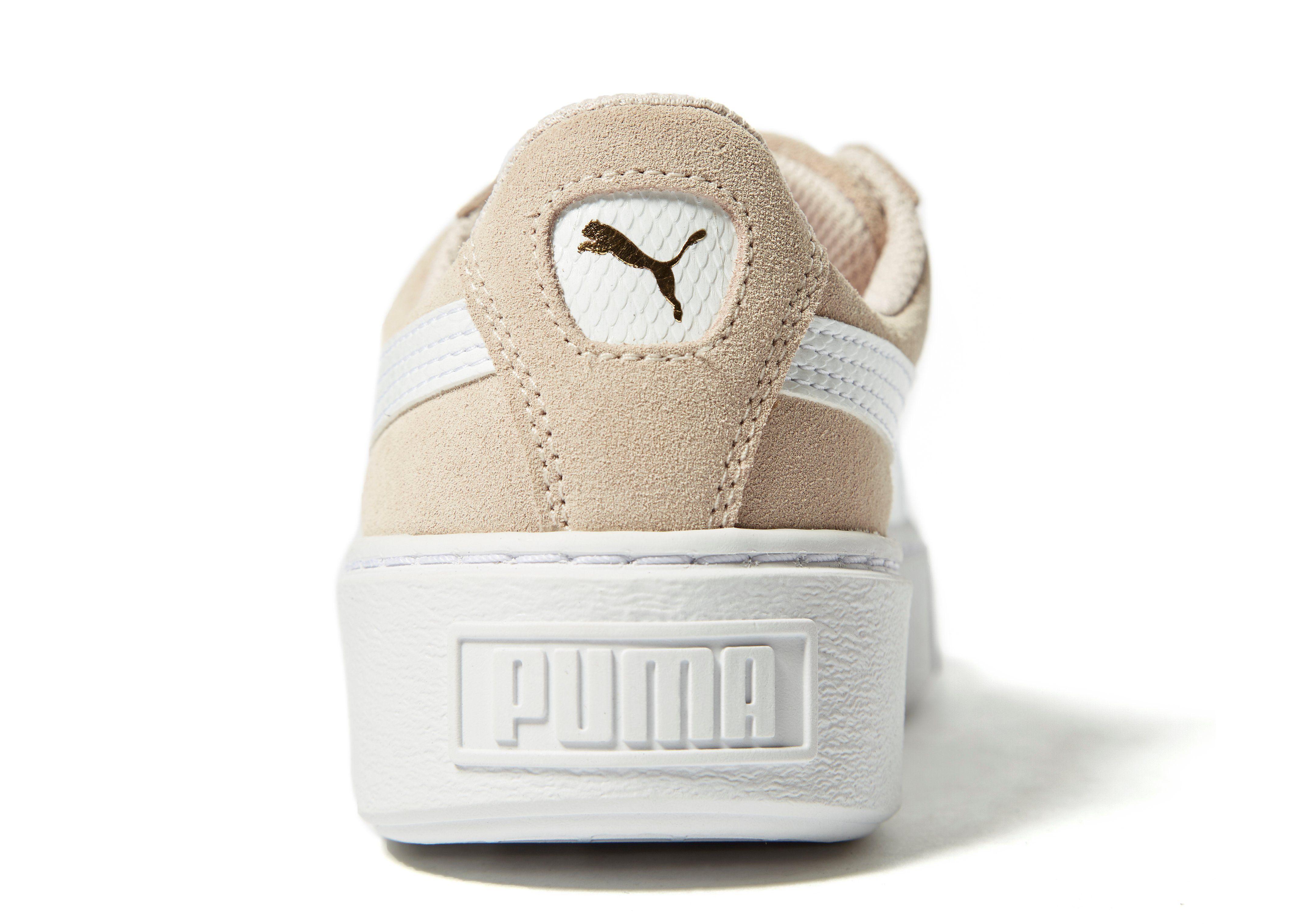 PUMA Suede Platform Junior