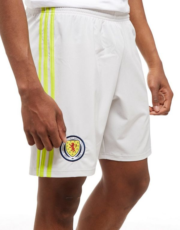 df71bd881b4 adidas Scotland 2018 19 Home Goalkeeper Shorts