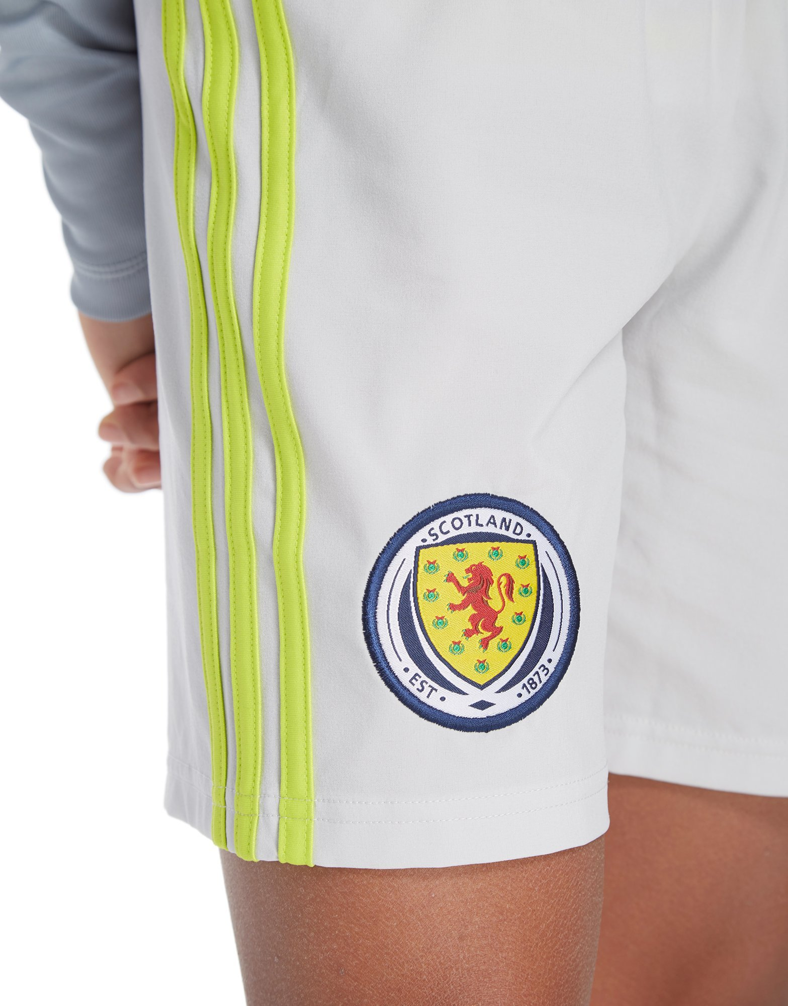 adidas Scotland 2018/19 Home Goalkeeper Shorts Junior