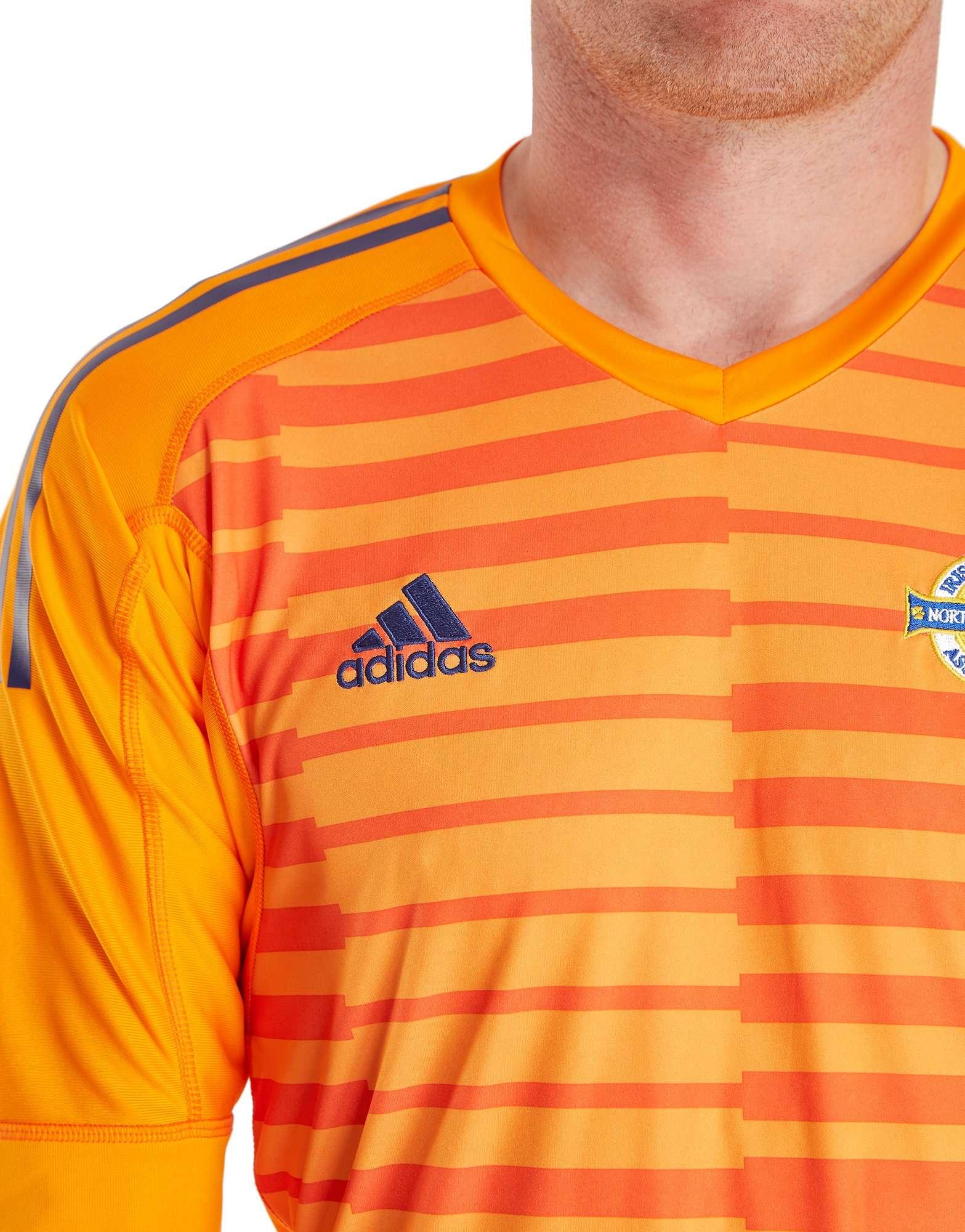 adidas Northern Ireland 2018/19 Home Goalkeeper Shirt