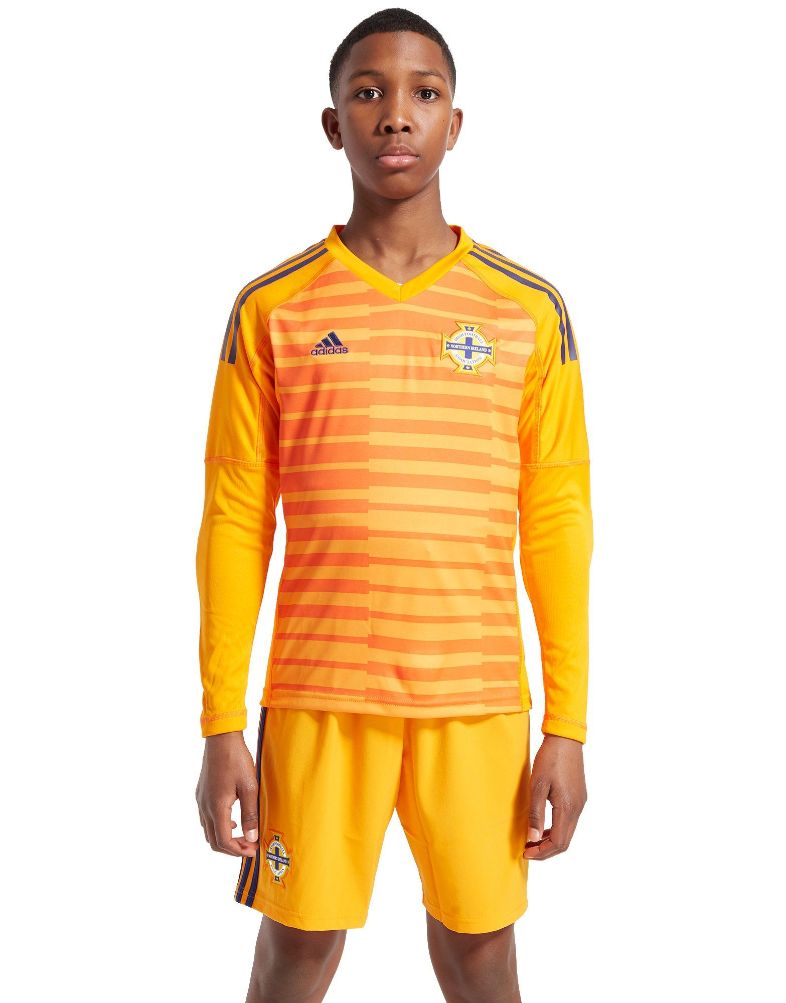 adidas Northern Ireland 18/19 Home Goal Keeper Shirt Jnr