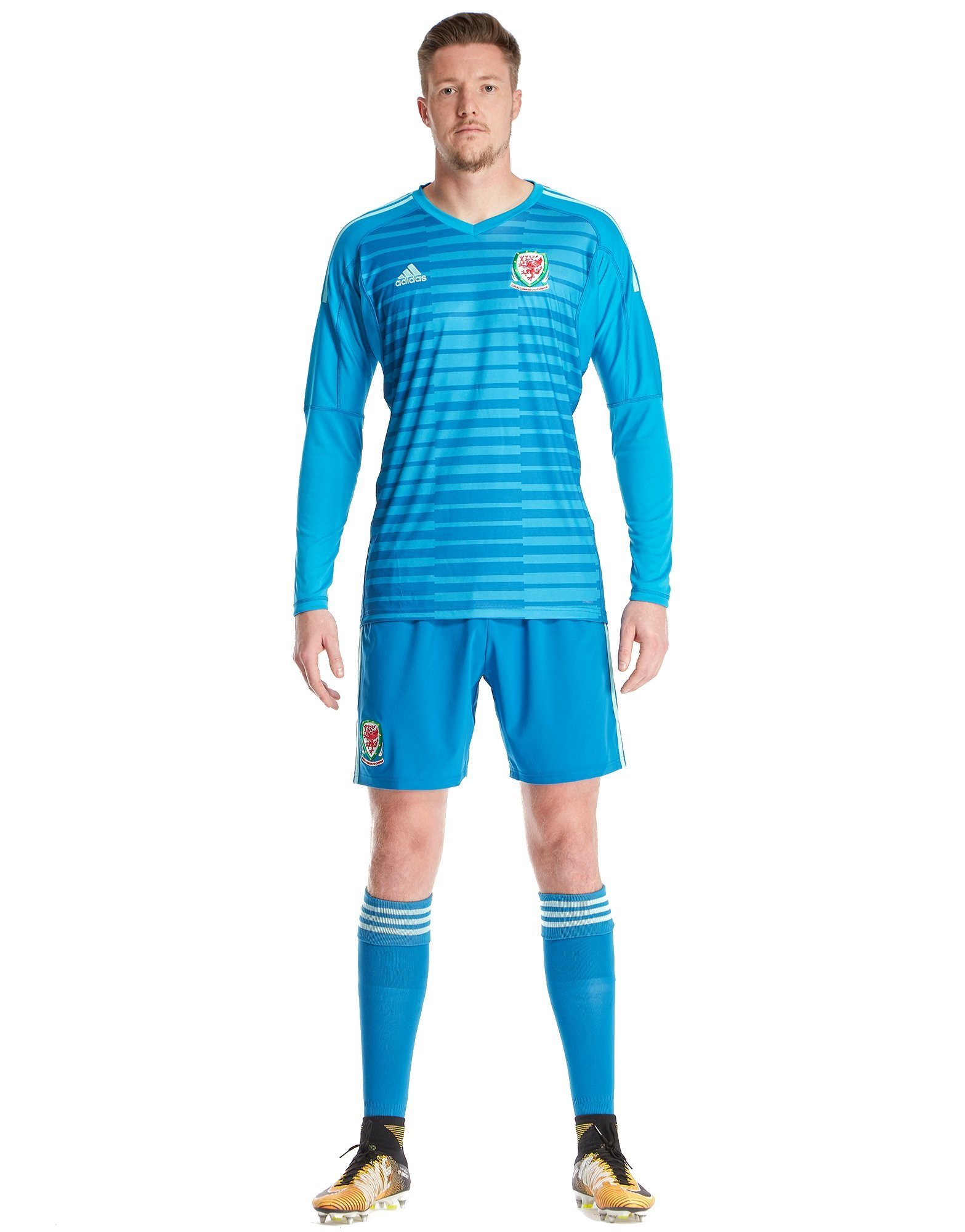 adidas Wales 2018/19 Home Goalkeeper Shirt