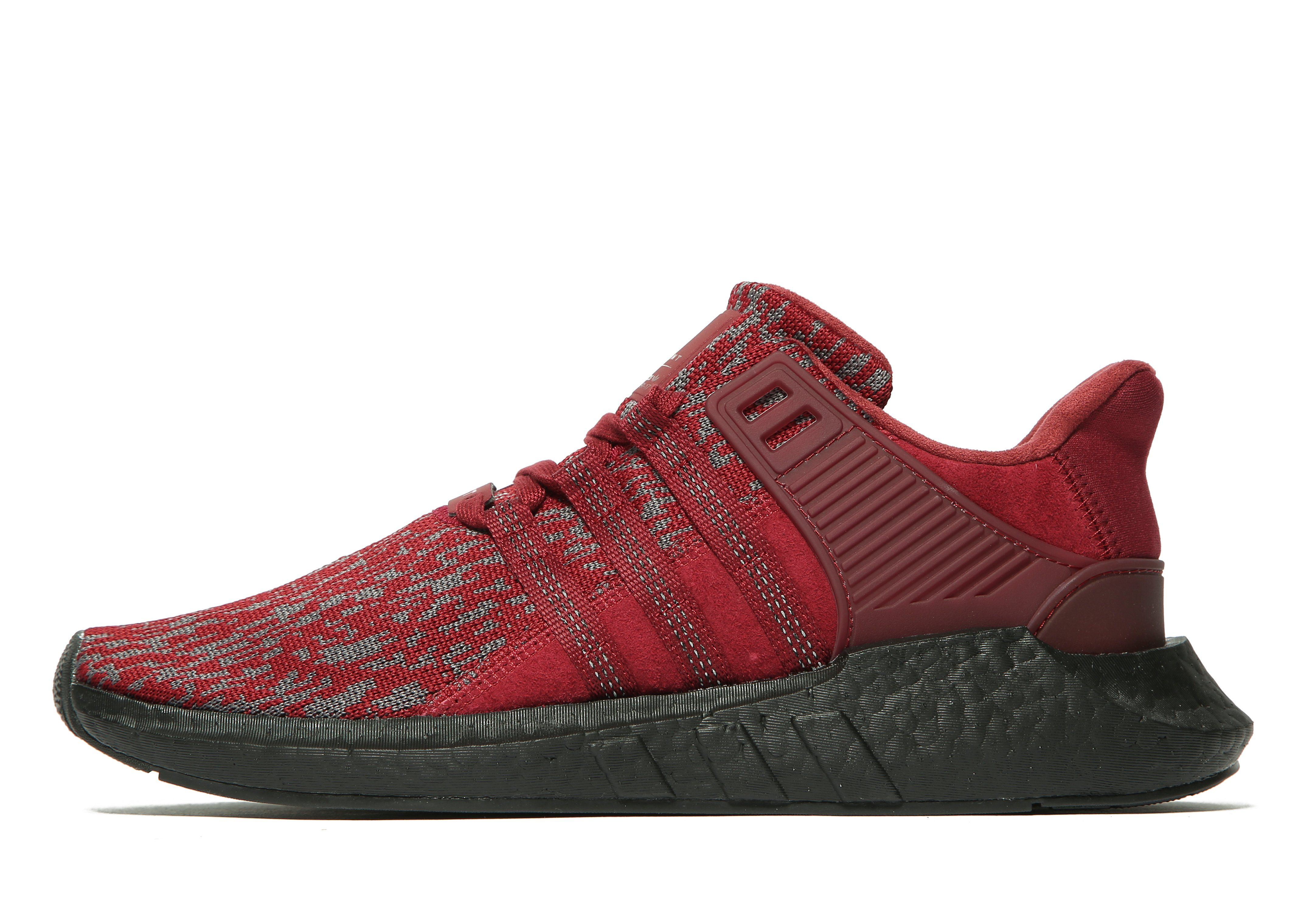 adidas shoes high tops red and black. adidas originals eqt support 93/17 shoes high tops red and black