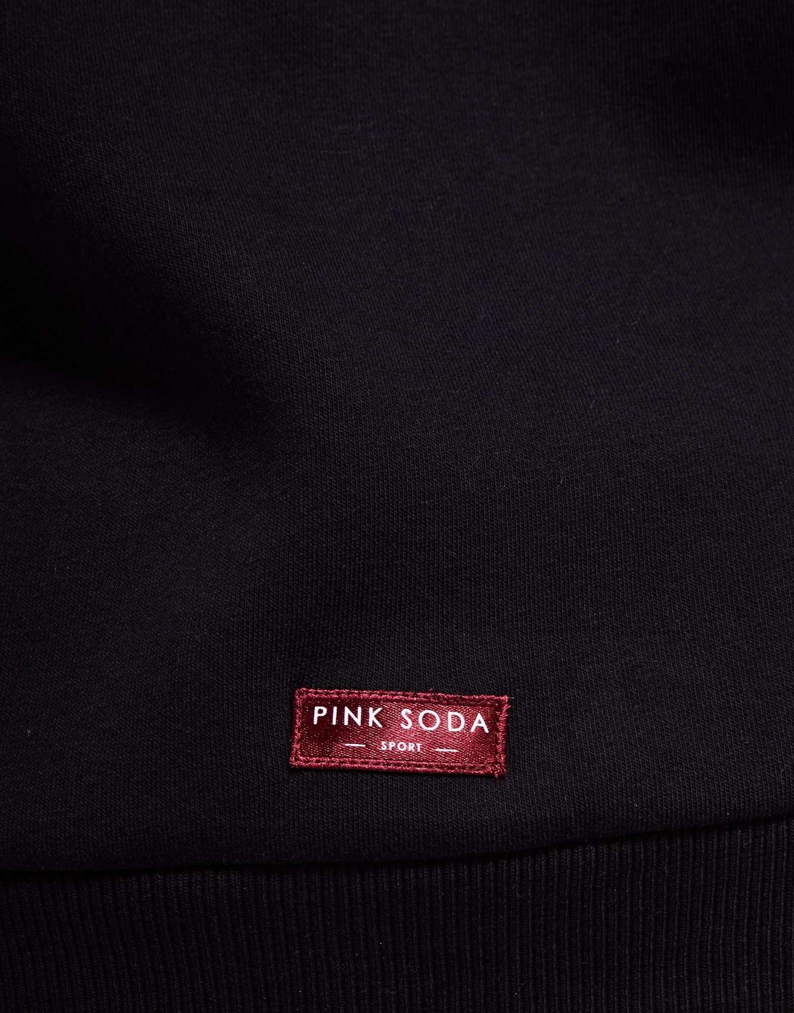Pink Soda Sport Split Hem Logo Hoodie