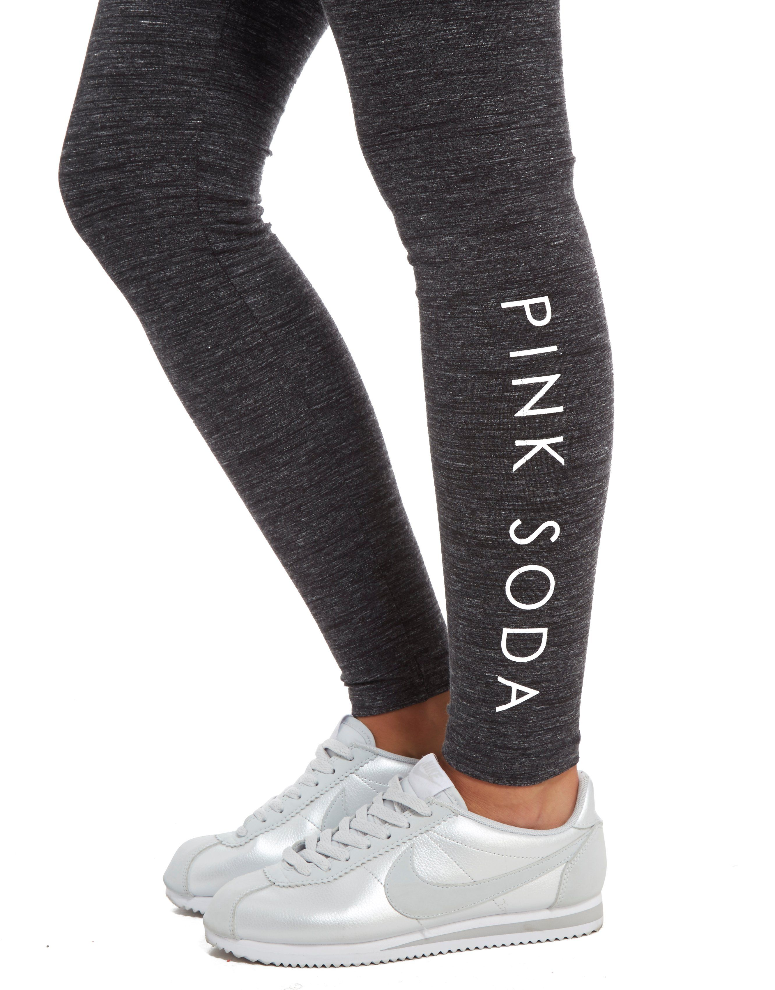 Pink Soda Sport Space Dye Lifestyle Leggings