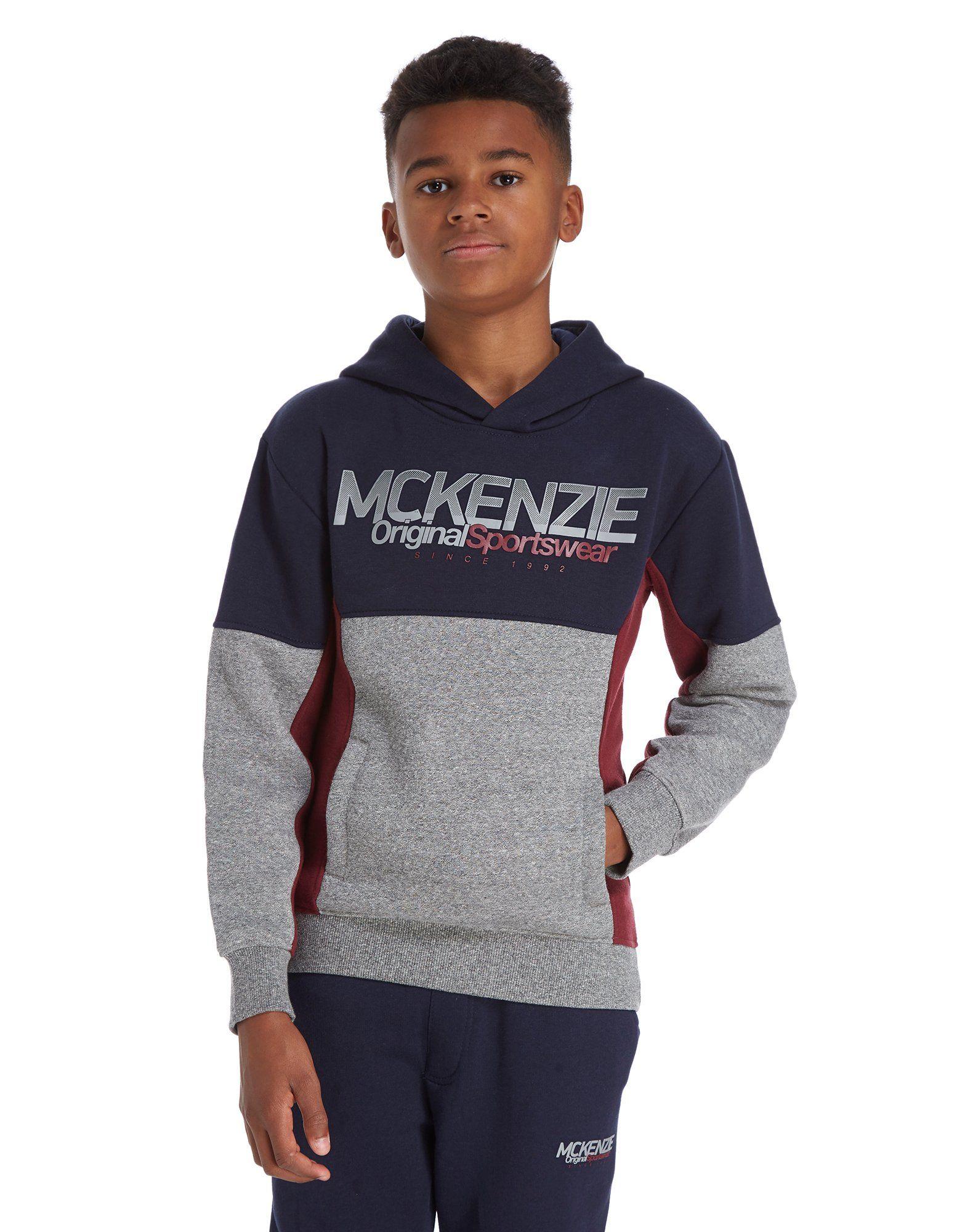 McKenzie Tycen Colour Block Hoodie Junior