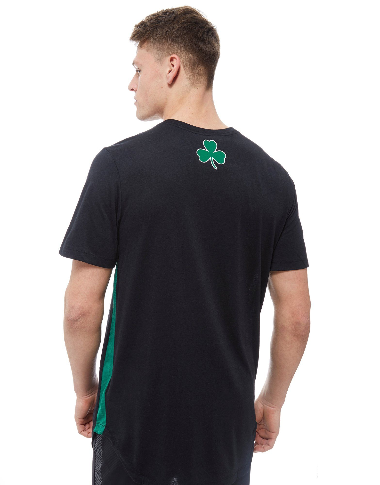 Nike NBA Boston Celtics City T-Shirt Schwarz