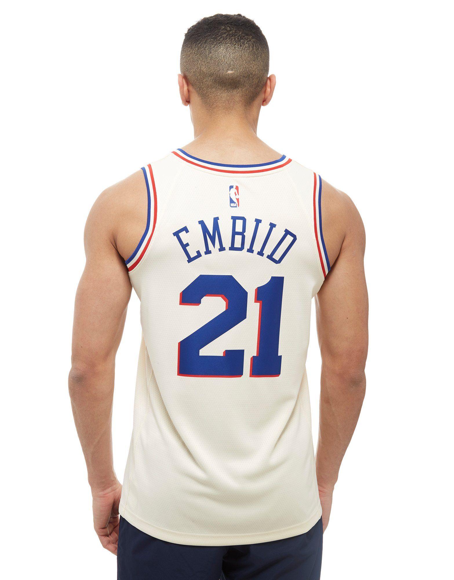 Nike NBA Embiid Philadelphia 76ers City Jersey