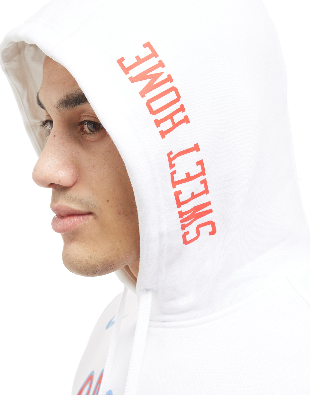 Nike NBA Chicago Bulls City Hoodie Weiss