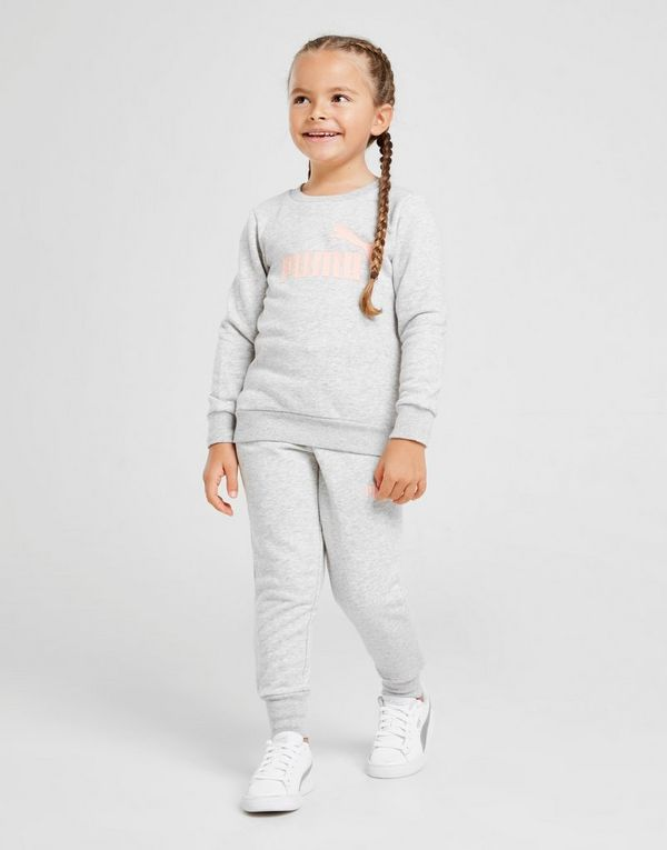 2390e2353e PUMA Girls' Logo Crew Suit Children