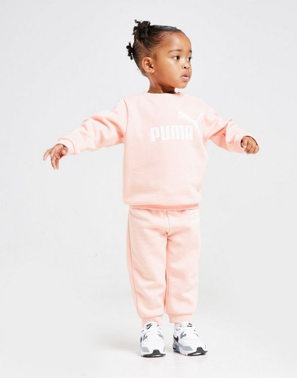 ccc168bd4f PUMA Girl's Logo Crew Suit Infant