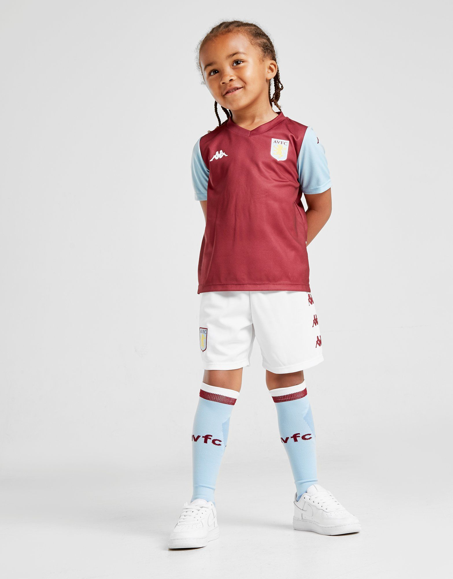e6dff5b2 Kappa Aston Villa FC 2019/20 Home Kit Children | JD Sports Ireland