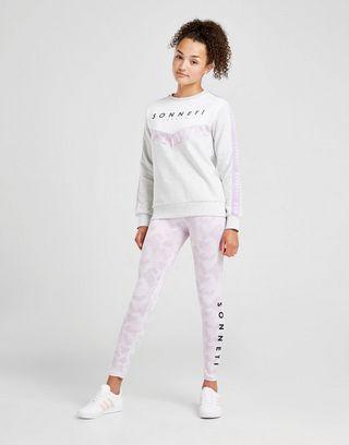 Sonneti Girls' Everly Chevron Crew Sweatshirt Junior