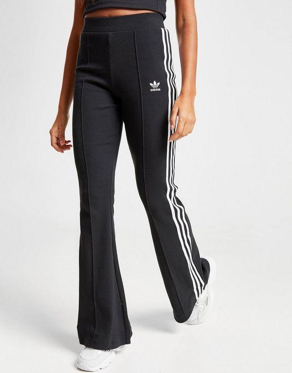 adidas Originals 3-Stripes Flared Track Pants | JD Sports ...