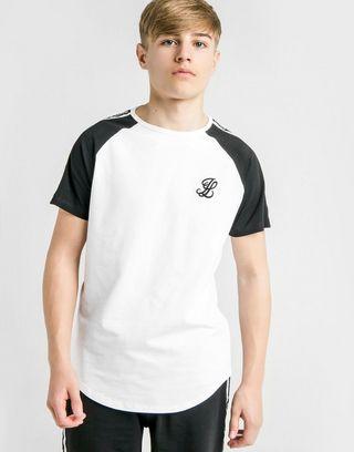 ILLUSIVE LONDON Contrasting Tape T-Shirt Kinder
