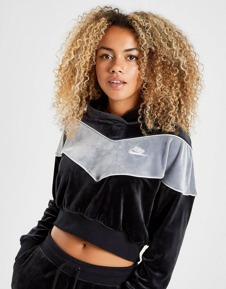 Nike Heritage Velvet Overhead Hoodie