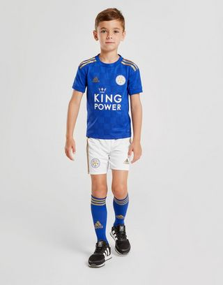 adidas Leicester City FC 19/20 Home Kit Children