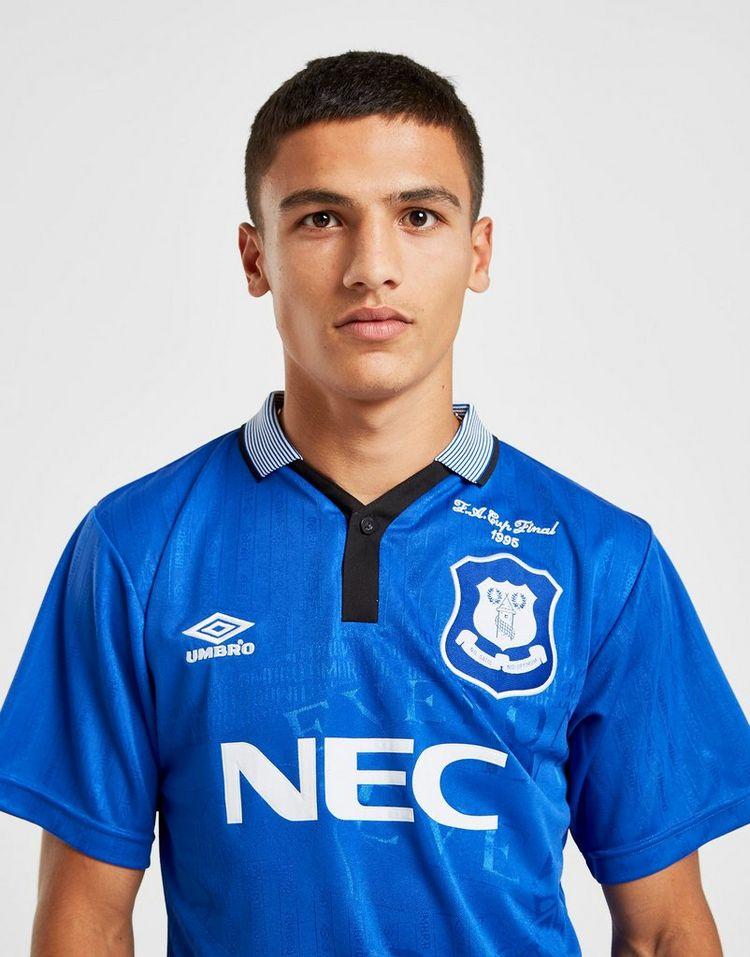 Score Draw Everton FC '95 Home Shirt Heren