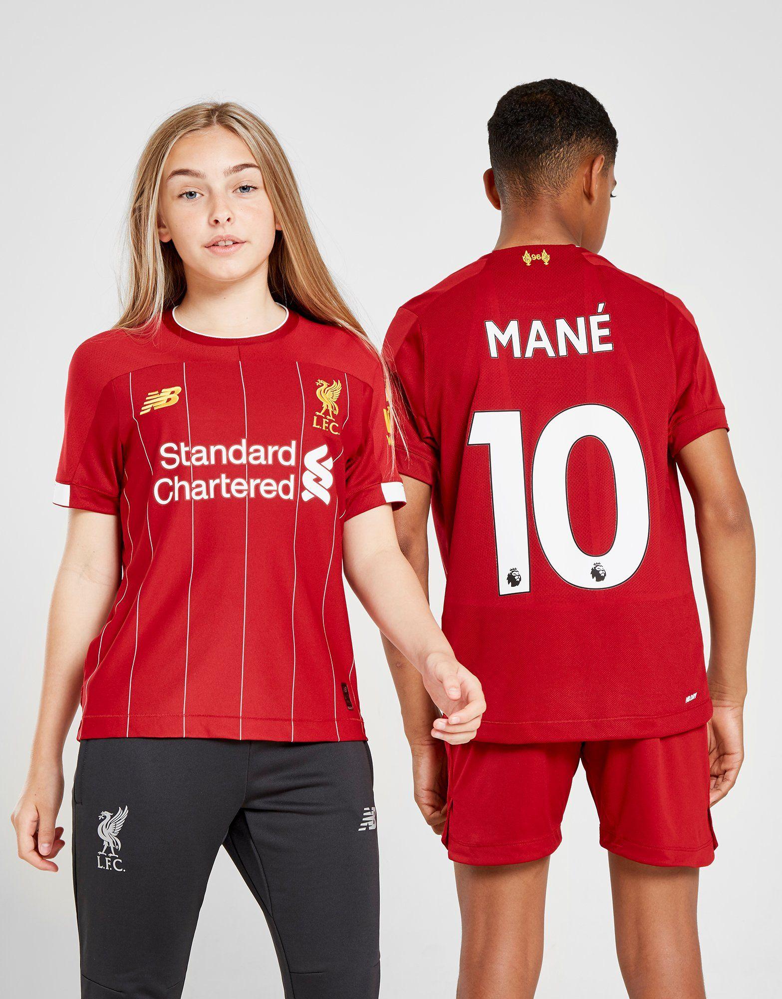 buy online 359ec 64fe5 New Balance Liverpool FC 2019/20 Mane #10 Home Shirt Junior | JD Sports  Ireland