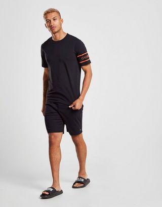 Calvin Klein Performance Sleeve Brand T-Shirt