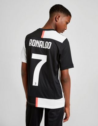 huge selection of 9564c a6b17 adidas Juventus FC 2019/20 Ronaldo #7 Home Shirt Junior | JD ...
