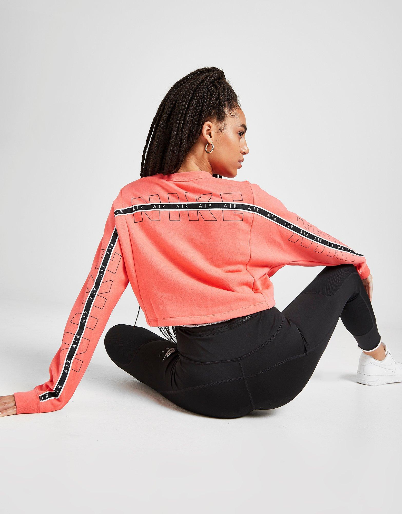 Nike Air Crop Crew Sweatshirt Women's