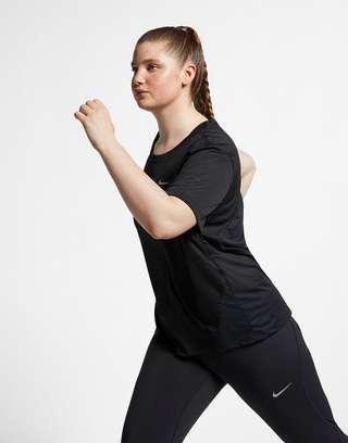 913130fc4d9 NIKE Nike Miler Women s Short-Sleeve Running Top (Plus Size)