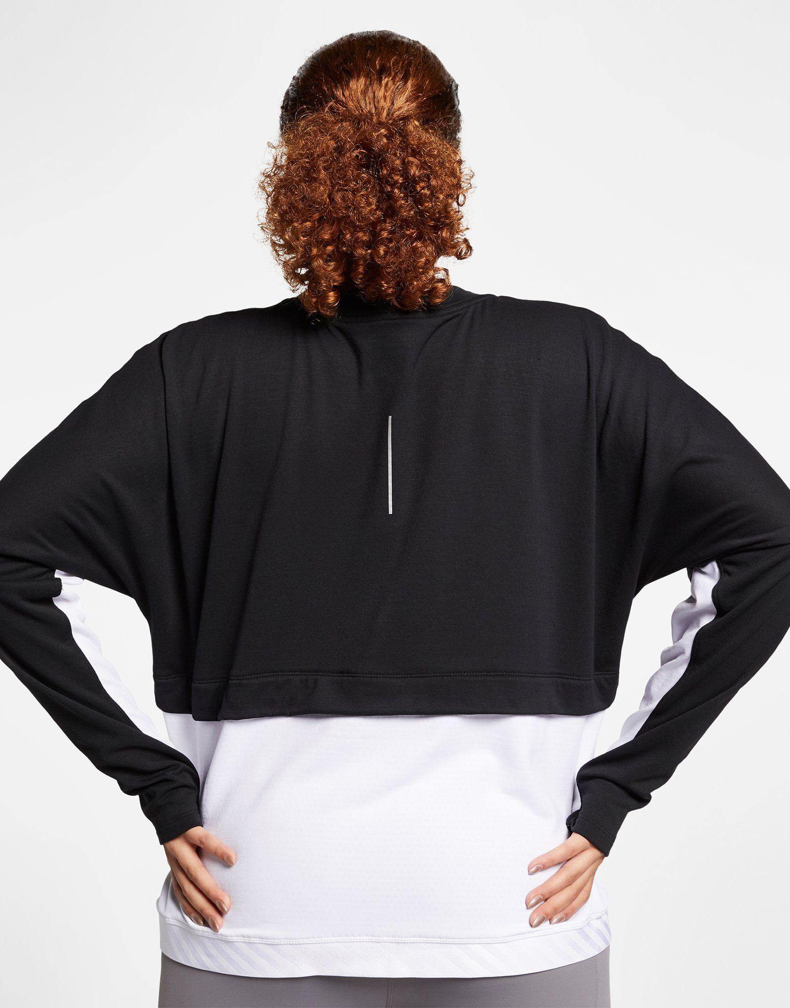NIKE Nike Therma-Sphere Women's Running Top (Plus Size)