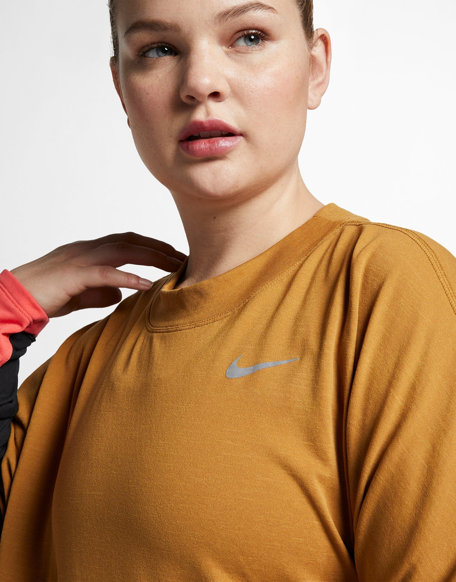 NIKE Nike Therma-Sphere Women's Running Top (Plus Size)