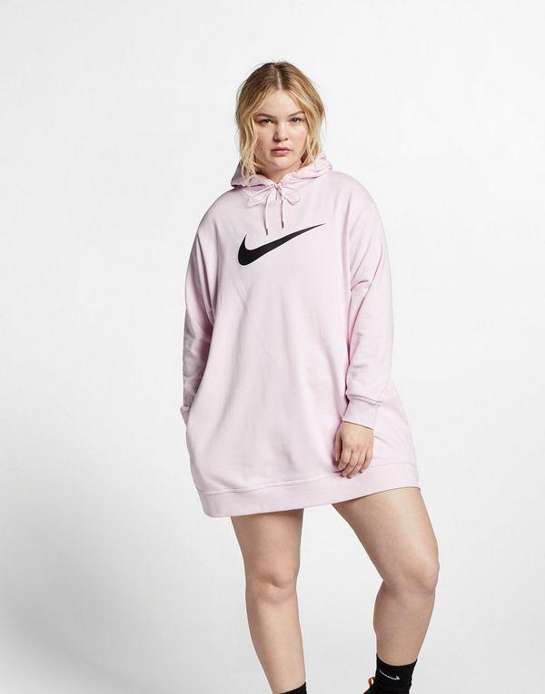 8e0d65d5b54 NIKE Nike Sportswear Swoosh Women s French Terry Dress (Plus Size ...