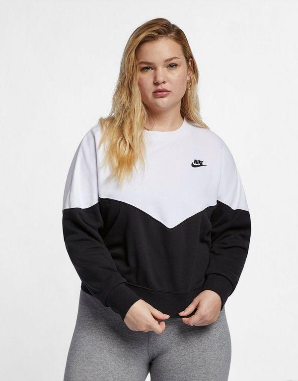 d2b078250b5 NIKE Nike Sportswear Heritage Women s Fleece Crew (Plus Size)