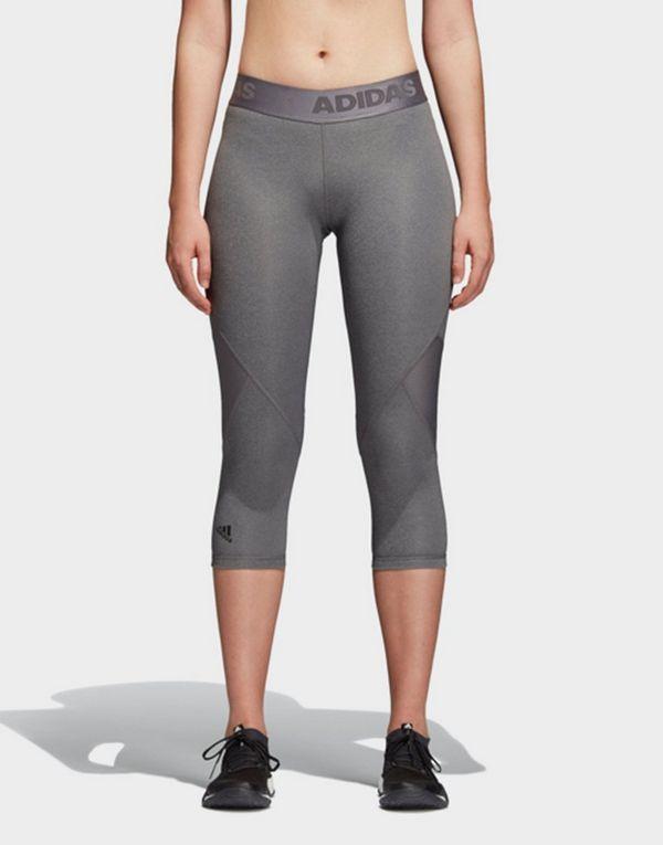 ADIDAS Alphaskin Sport Heather 3 4 Tights  9547325816c