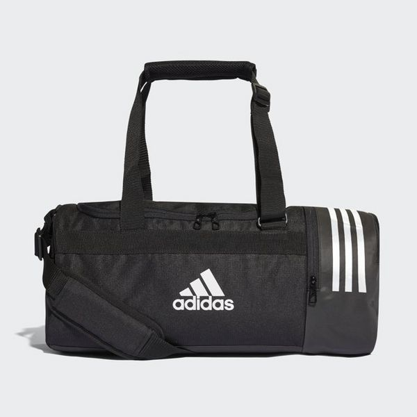 f7082b192a ADIDAS Convertible 3-Stripes Duffel Bag Small
