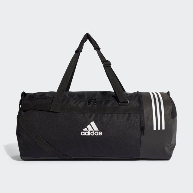 55387d495c ADIDAS Convertible 3-Stripes Duffel Bag Large