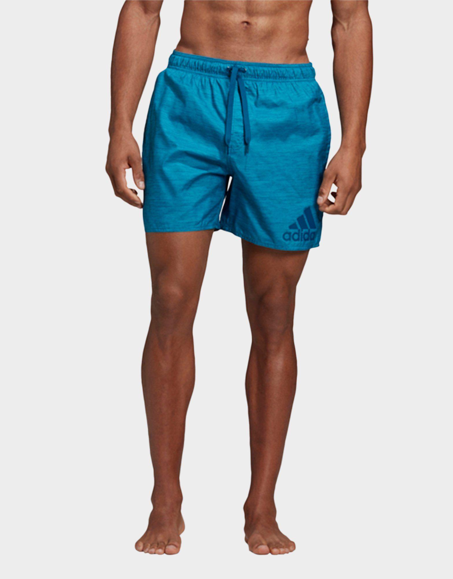 ADIDAS Badge of Sport Mélange Swim Shorts