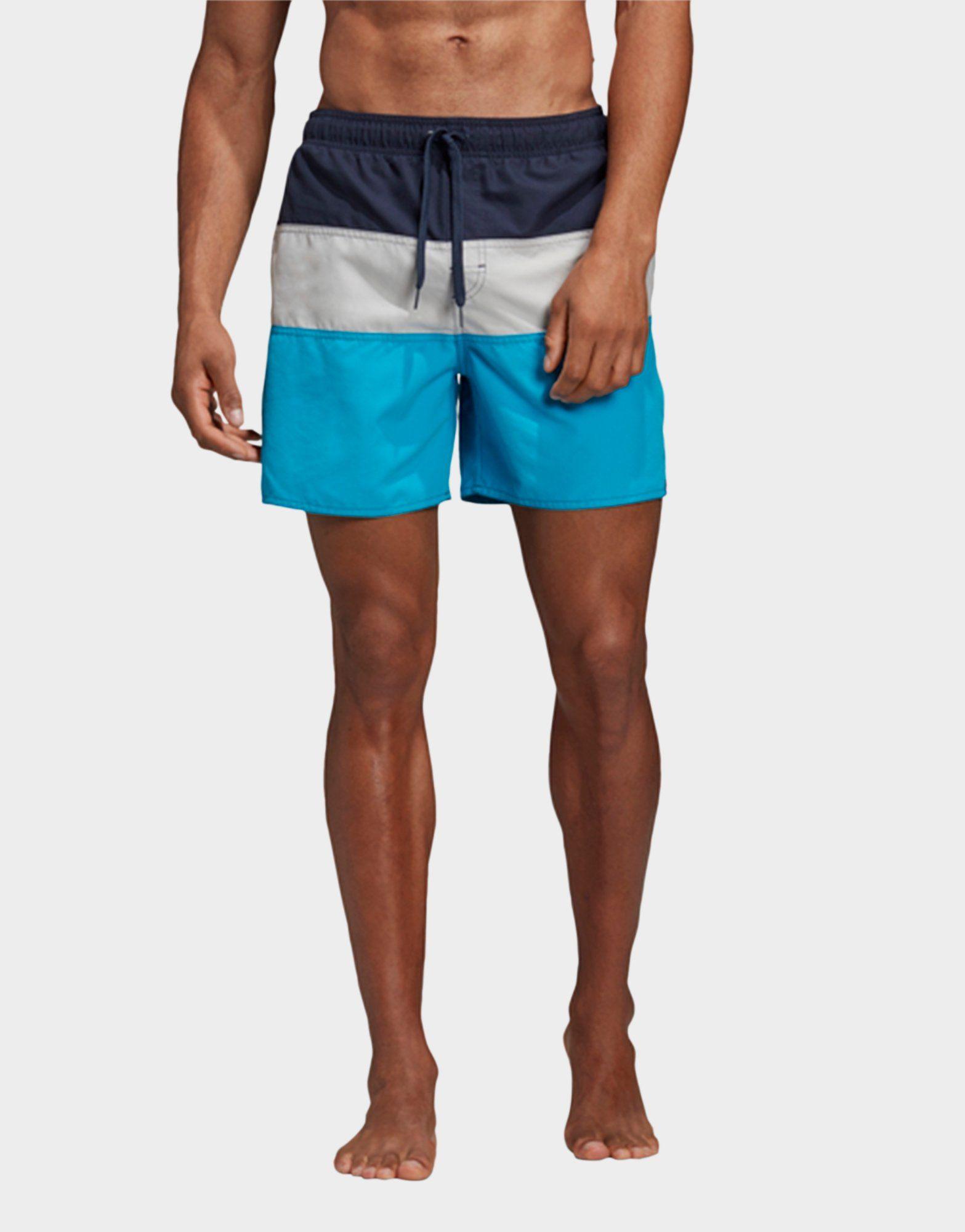 ADIDAS Colorblock Swim Shorts
