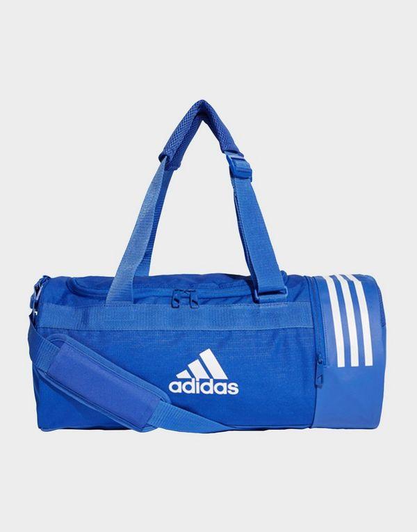 4e83cd8f81 ADIDAS Convertible 3-Stripes Duffel Bag Small