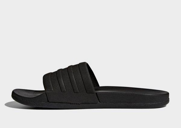 more photos 5bdf9 6fcae ADIDAS ADIDAS Men s Adilette Cloudfoam Plus Mono Slides Black