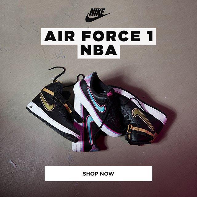 JD Sports (MY): Nike Air Force 1 NBA   Ayul Ayol