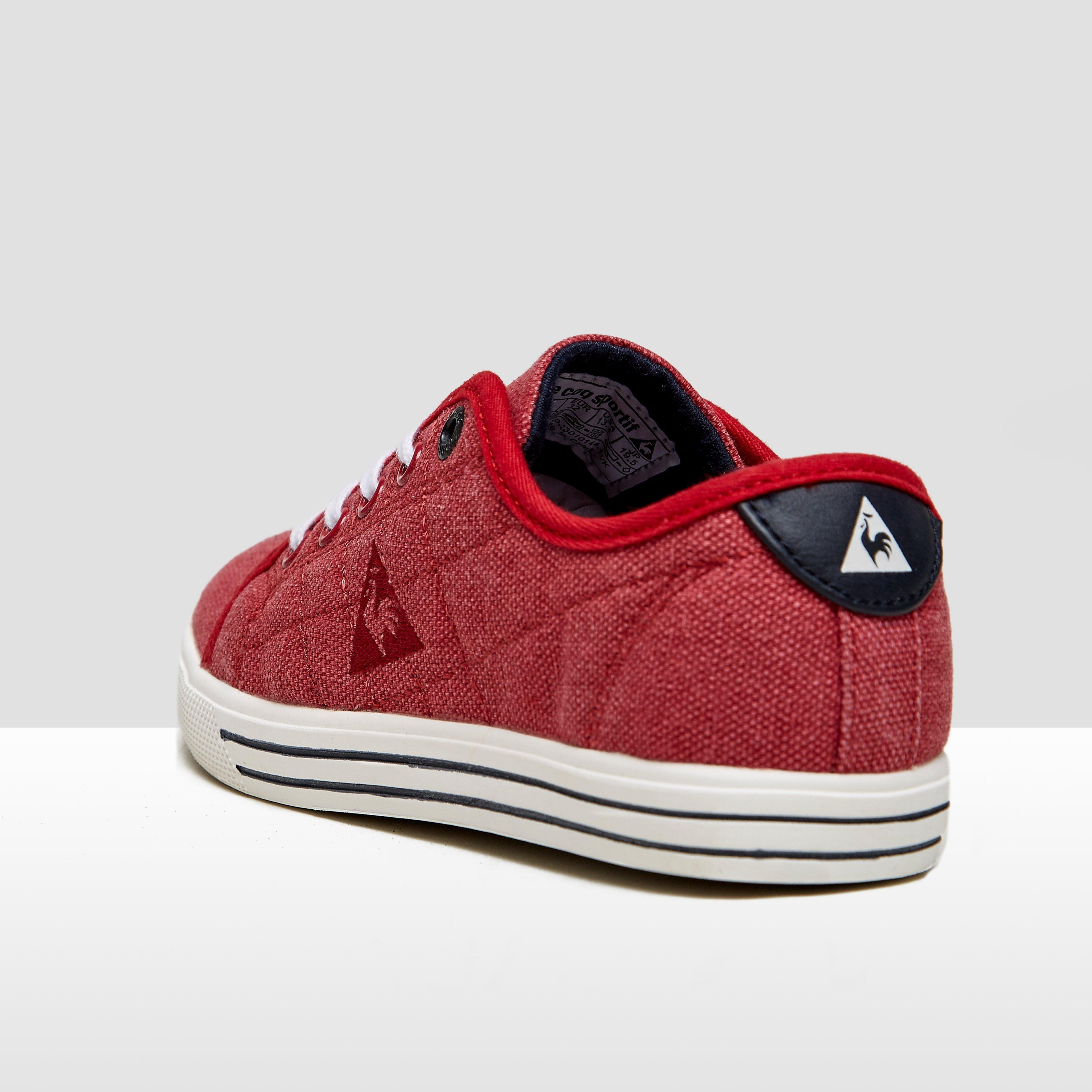 LE COQ SPORTIF ANNECY LOW SNEAKERS ROOD KINDEREN