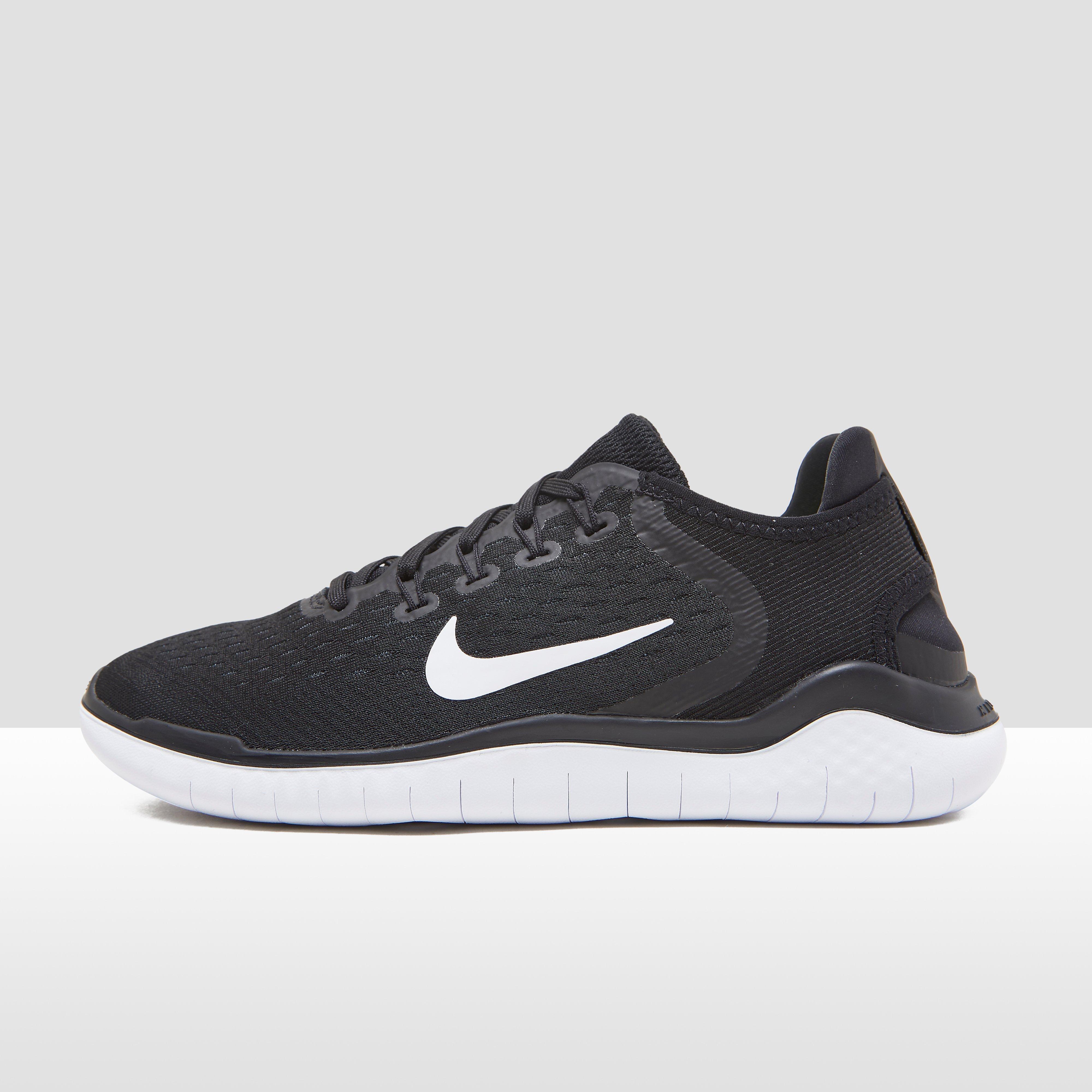 Chaussures Nike Free Running Rn 2018 - Noir / Blanc xoQyI1E