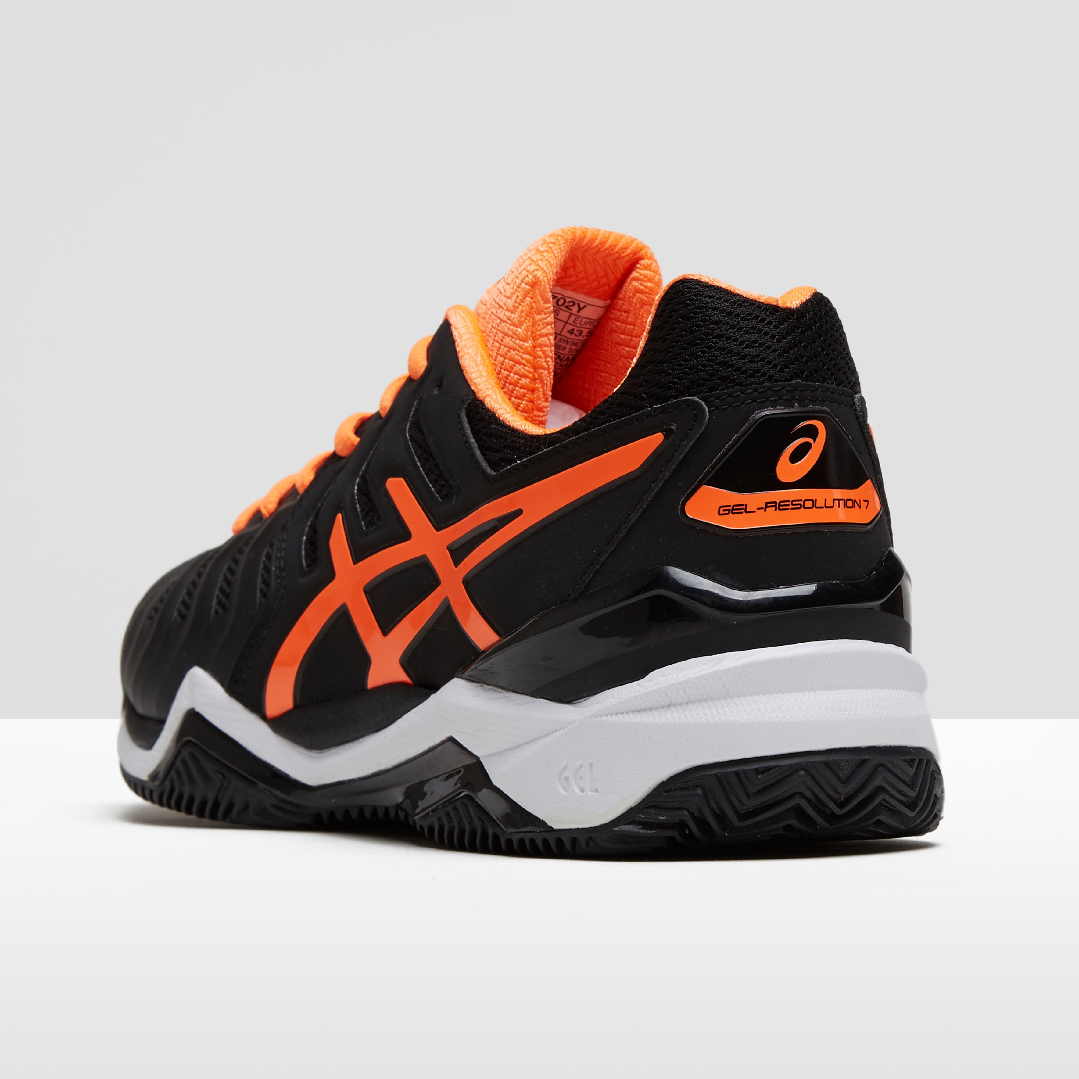 Résolution De Gel Noir Asics 7 Chaussures Pour Les Hommes XKqaaw4