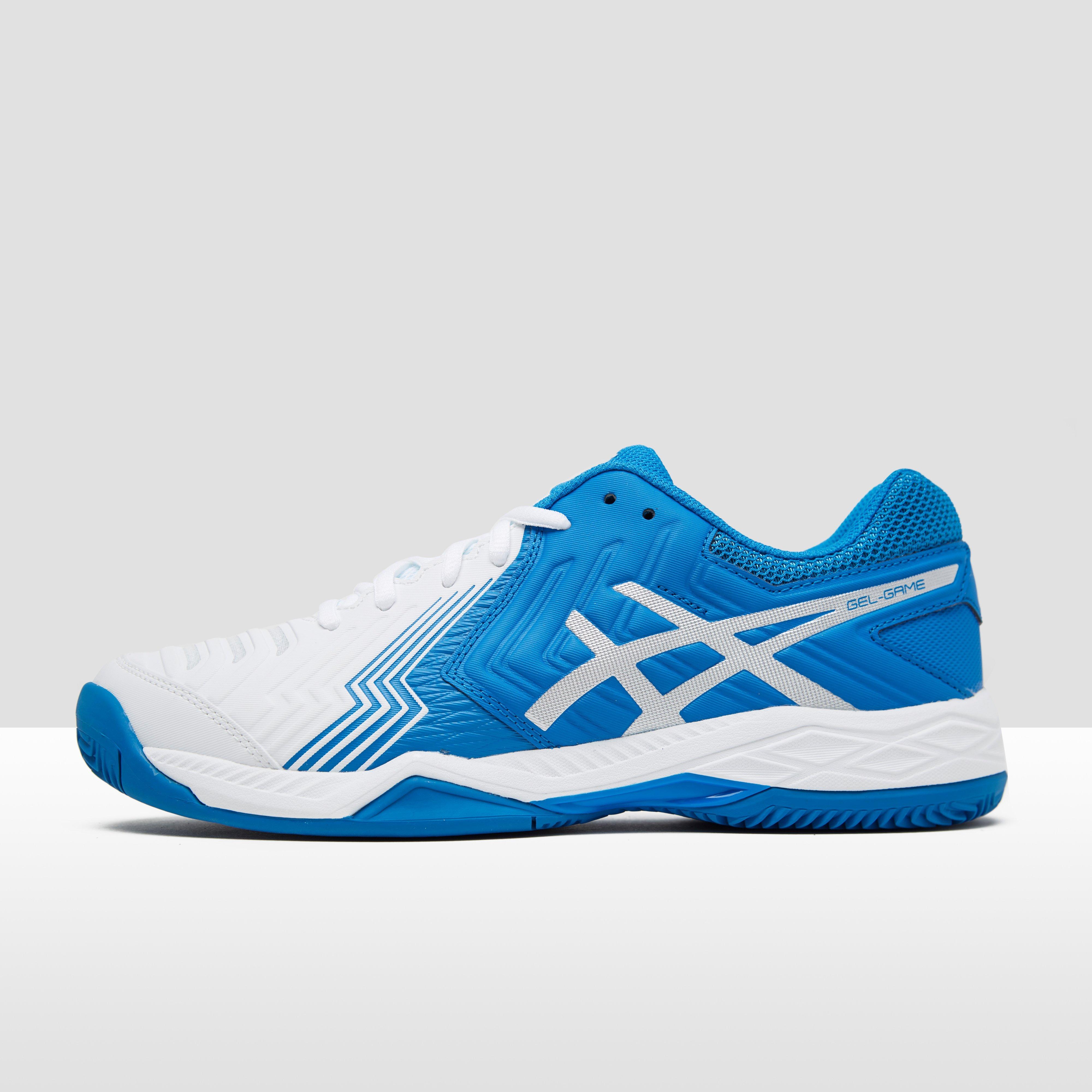 Gel - Asics-jeu Six Chaussures De Tennis En Terre Battue - Hommes - Chaussures - Blanc - 44 MvUqhX