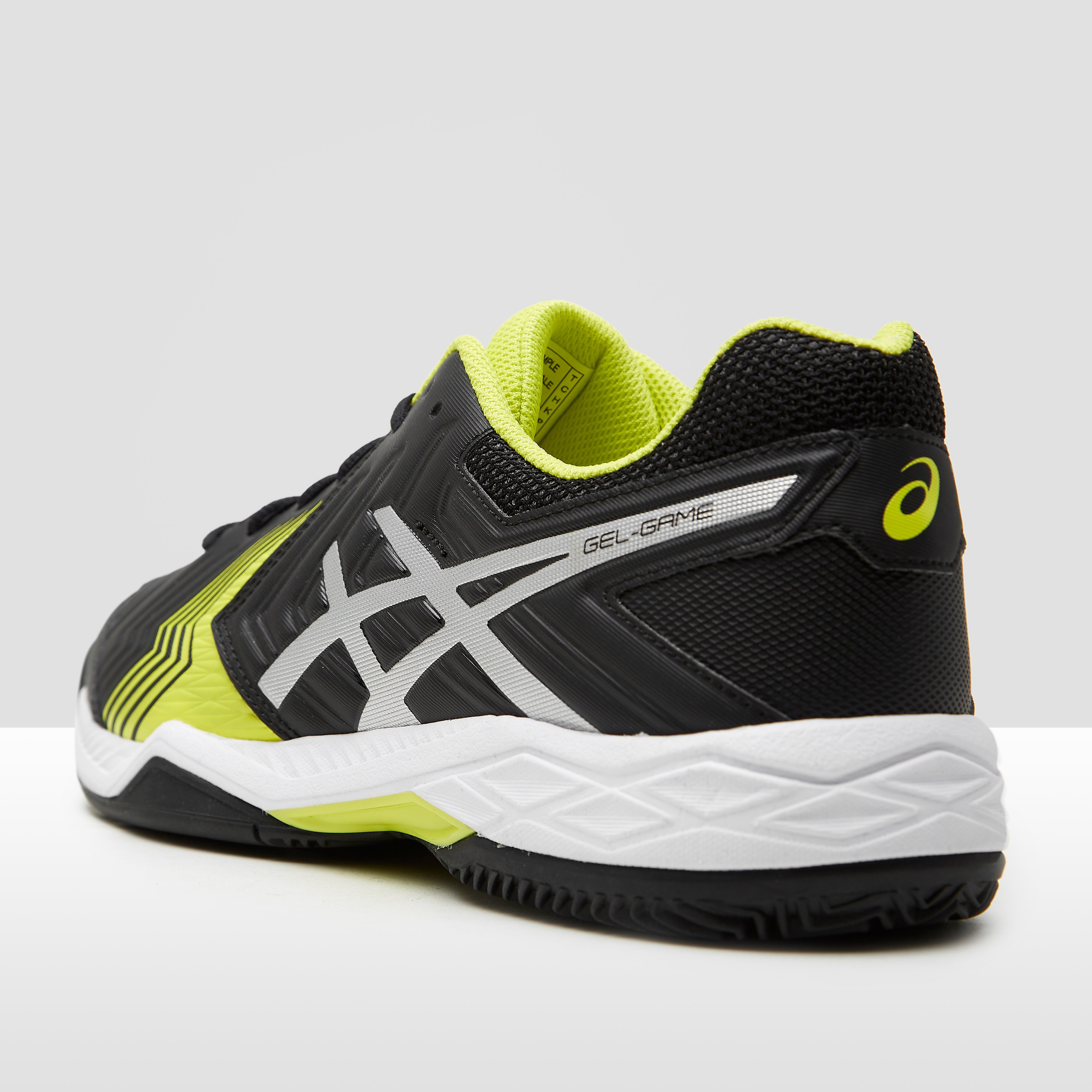 ASICS GEL-GAME 6 CLAY TENNISSCHOENEN ZWART HEREN